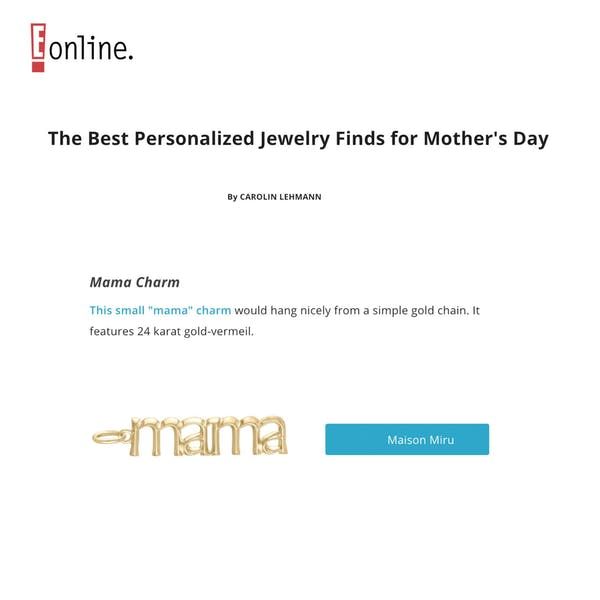 Mama Charm as seen on E! Online