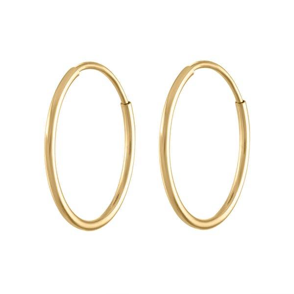 Forever Hoops in 14k Gold