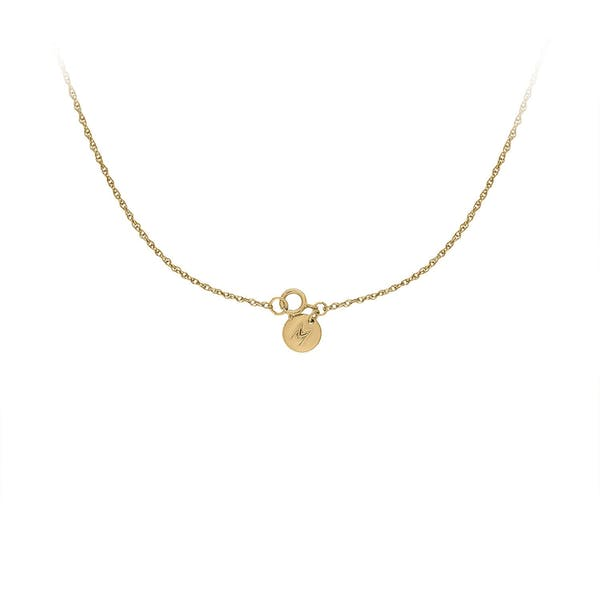Heirloom Necklace in Gold Vermeil clasp