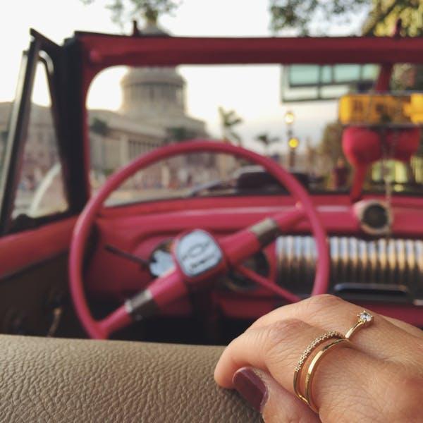 Juliet Ring at Maison Miru Jewelry @maisonmiru