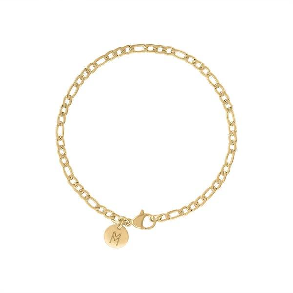 Poet Bracelet in Gold