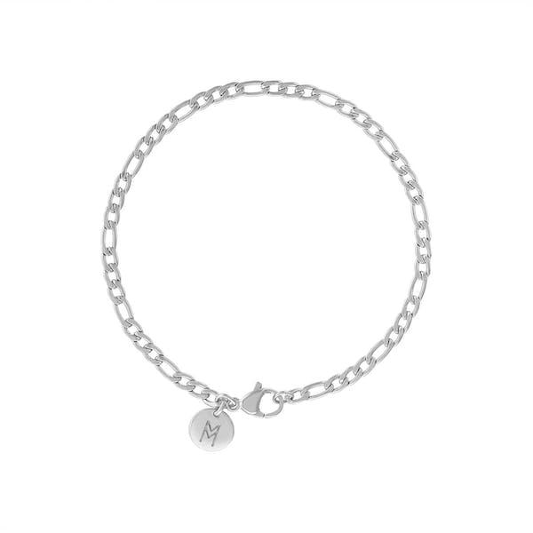 Poet Bracelet in Silver