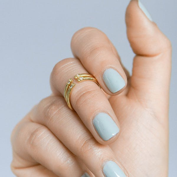 Anja Ring on model