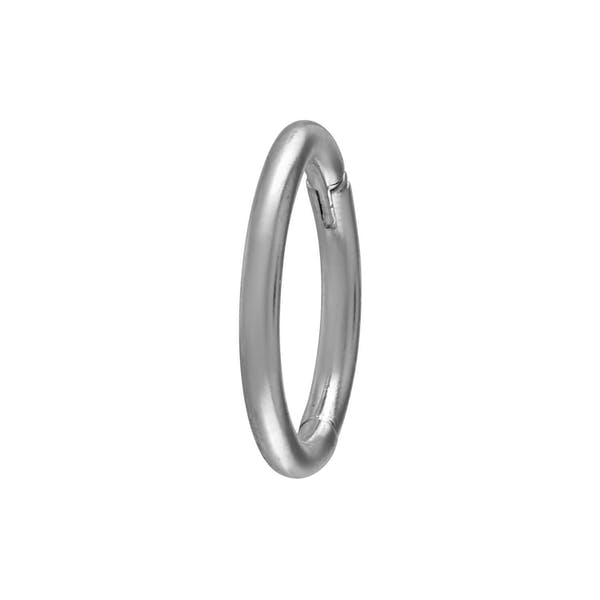 Classic Cartilage Hoop in Silver