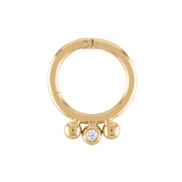Dreamer Cartilage Hoop in Gold