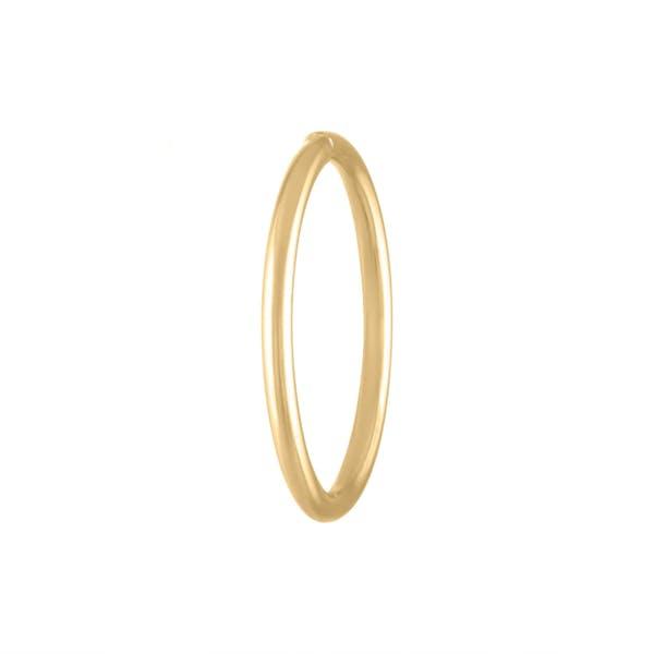 Forever Seamless Hoop in 14k Gold