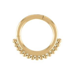 Goddess Cartilage Hoop in Gold