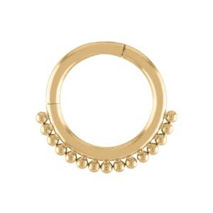 Goddess Cartilage Hoop in Gold