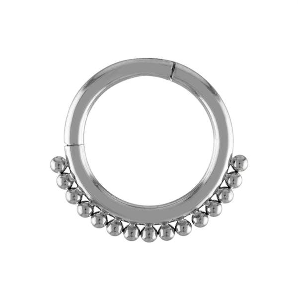 Goddess Cartilage Hoop in Silver