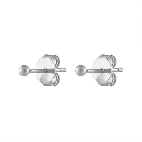 Little Secret Studs in Sterling Silver