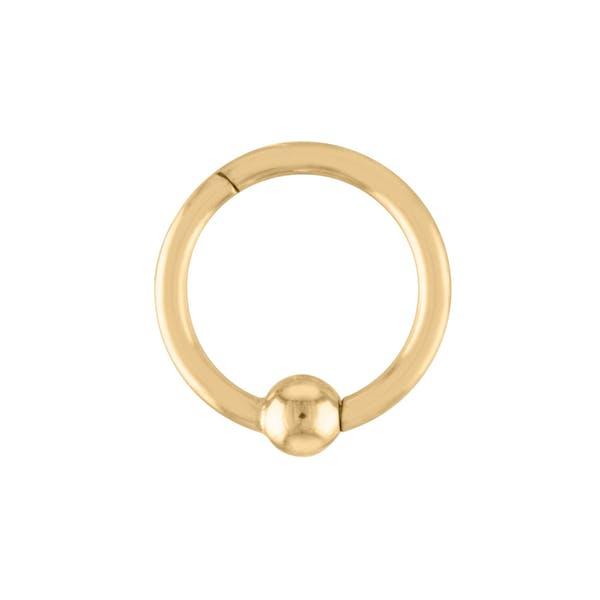 Orbital Cartilage Hoop in Gold