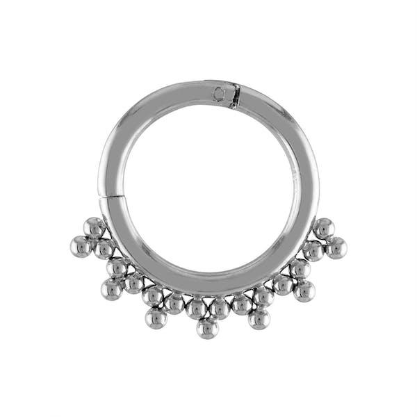 Siren Cartilage Hoop in Silver