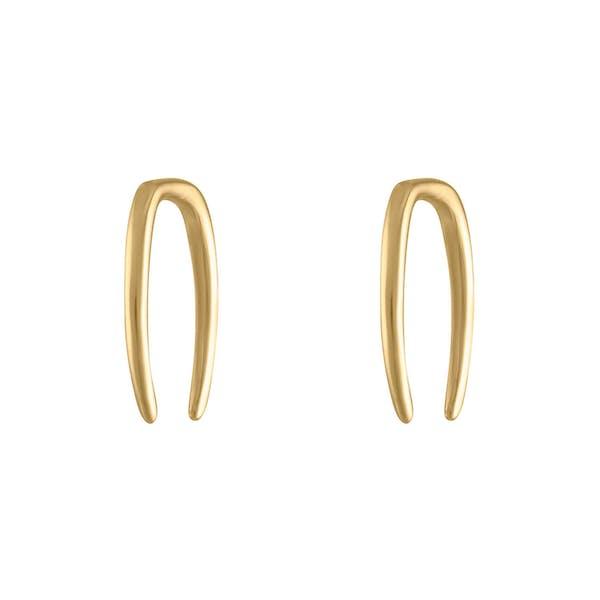 Whisper Open Hoop Earrings in 18g